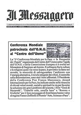 Il Messaggero, 22 Giugno 2005