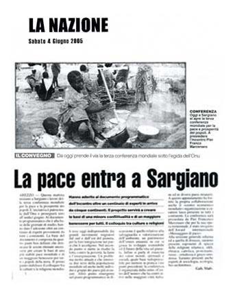 La Nazione, 4 Giugno 2005