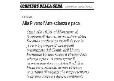 Il Corriere della Sera, 29 Giugno 2002