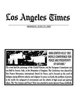 Los Angeles Times, 27 Giugno 2005