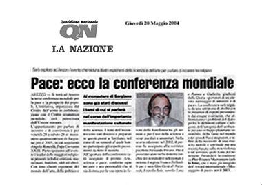 La Nazione, 20 Maggio 2004