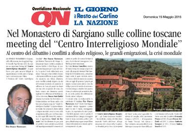 Quotidiano Nazionale, 15 Maggio 2016
