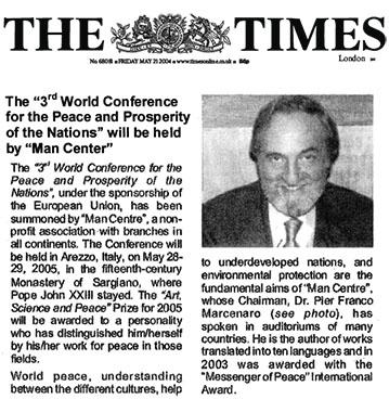 The Times, 21 Maggio 2004