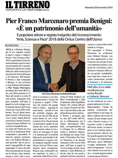 Il Tirreno - Gruppo La Repubblica, 28 Novembre 2018